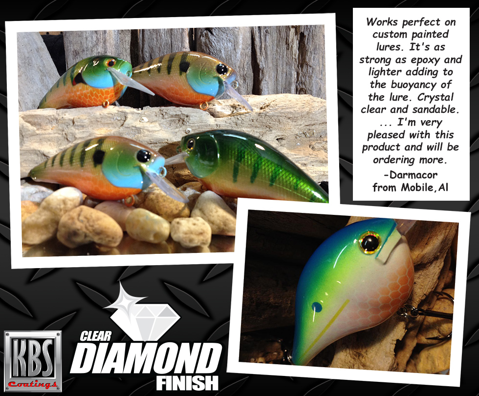 Clear Coat for Fishing Lures