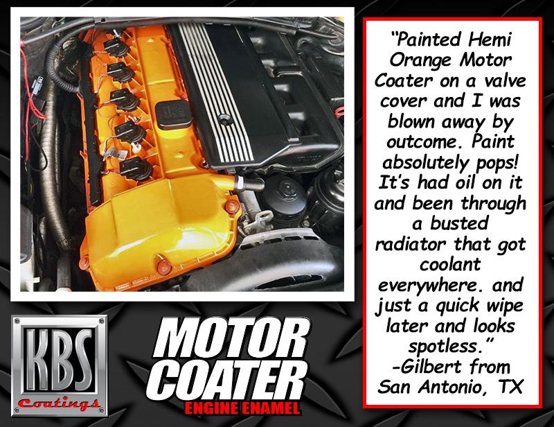Motor COater Hemi Orange