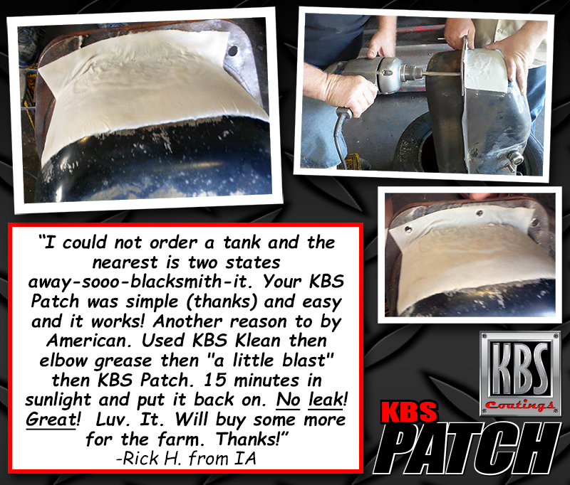 KBS Patch - Patch A Gas Tank