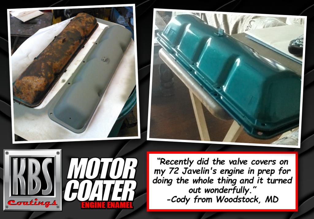 Motor Coater - Engine Paint