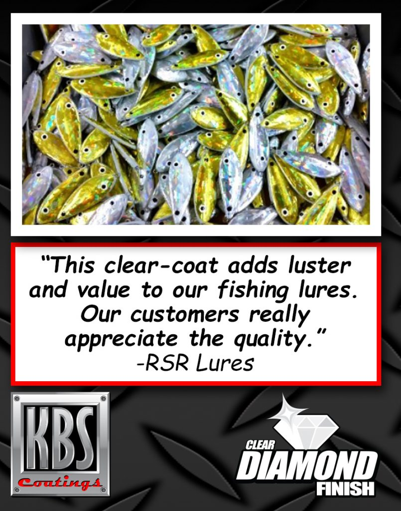 DiamondFinish Clear Fishing Lures - Clear Coat